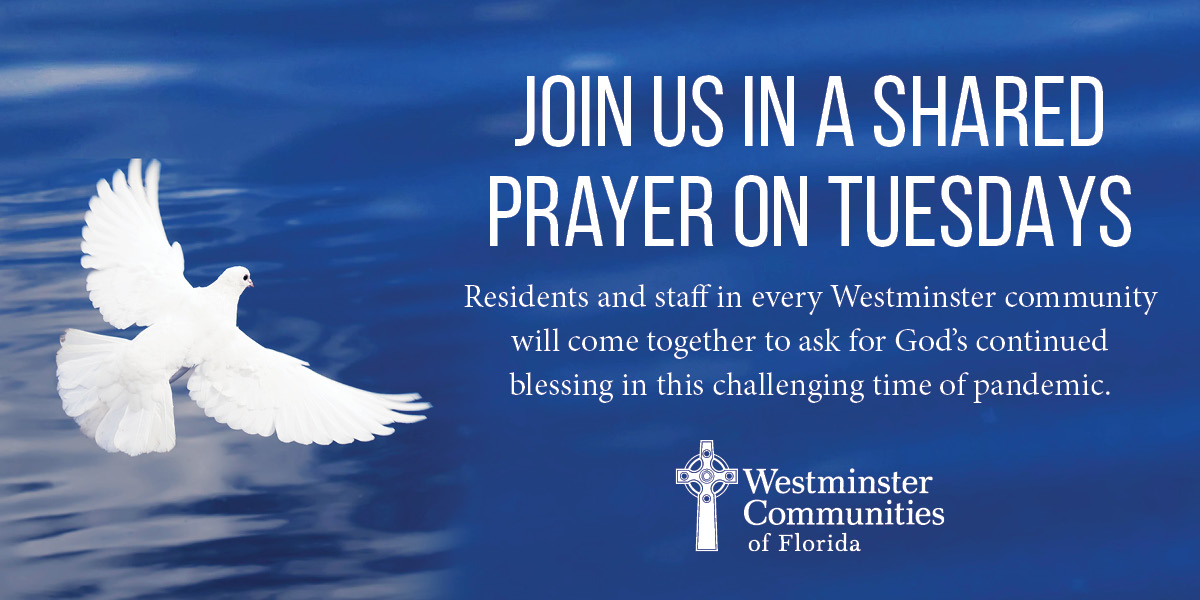 Join Us In A Shared Prayer on Tuesdays