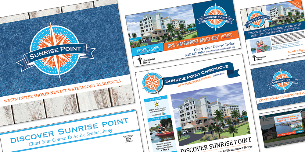 Our Introducing Sunrise Point sales and marketing campaign.