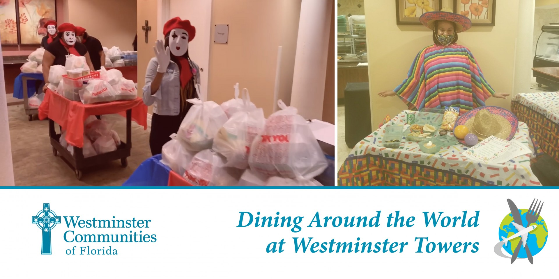 Dining Around The World at Westminster Towers