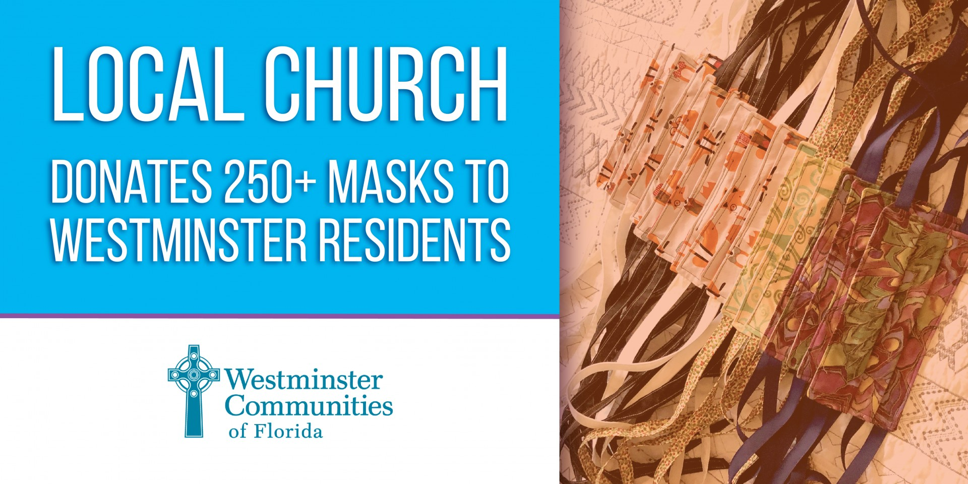 Local Church Donates Over 250 Masks to Westminster Residents