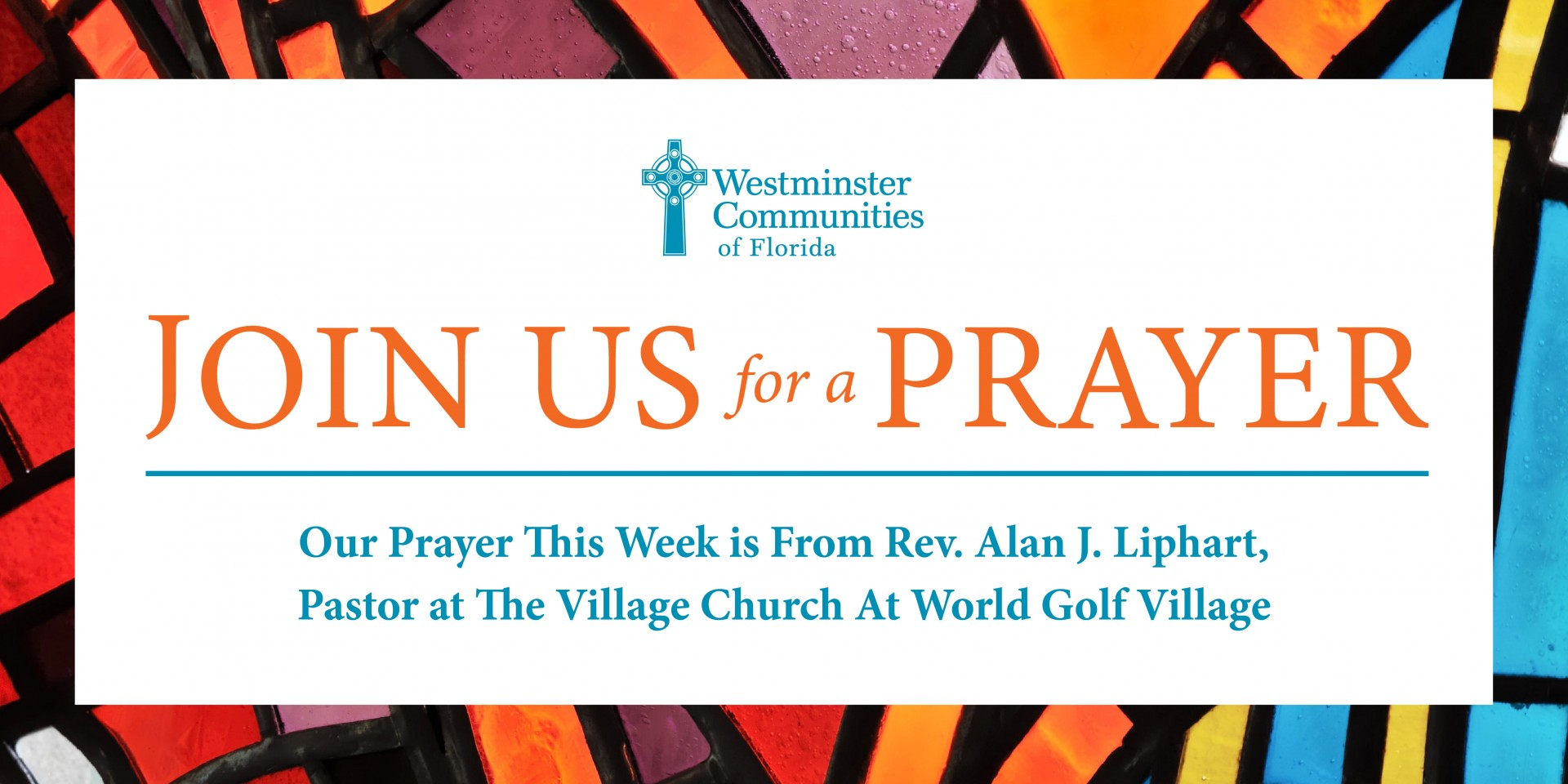 Join Us For A Prayer Today at 2 PM