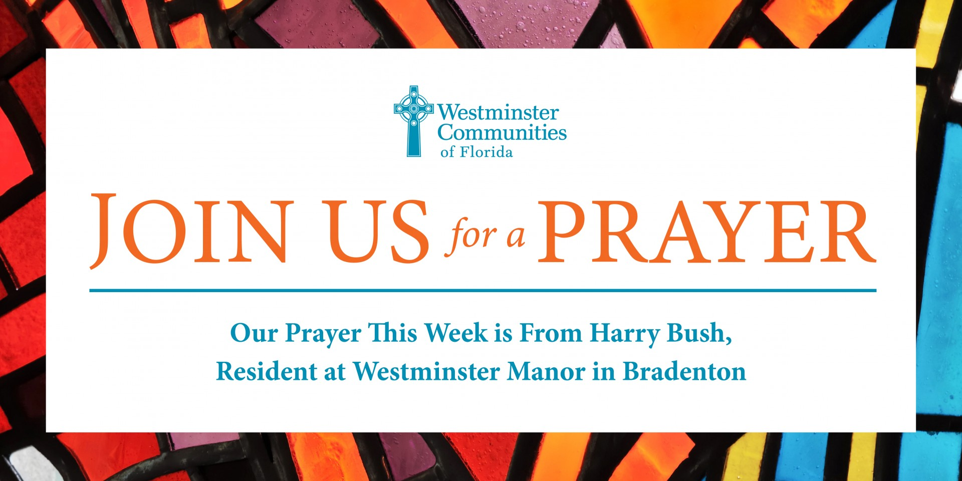 Join Us For A Prayer