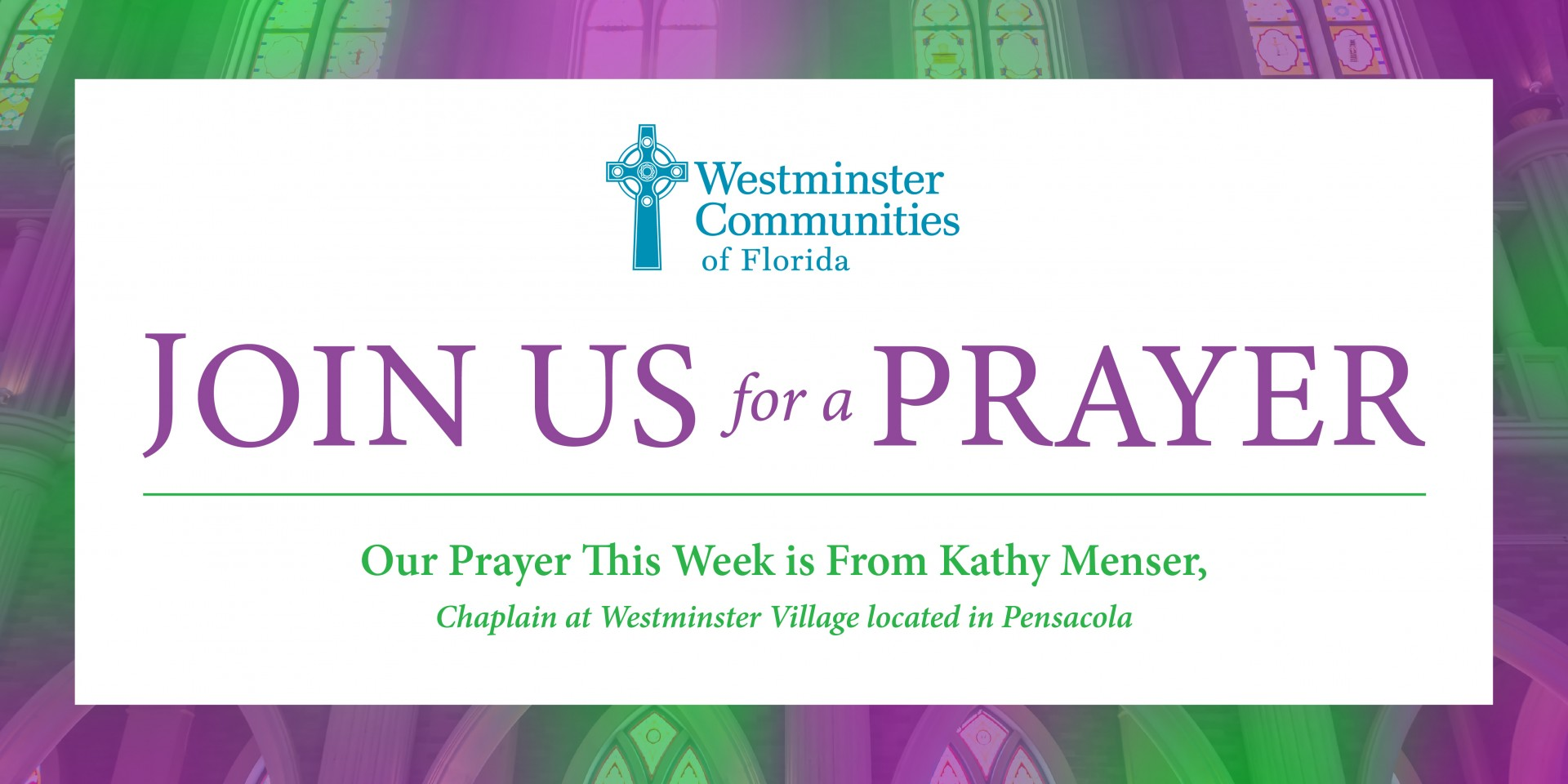 Join Us For A Shared Prayer