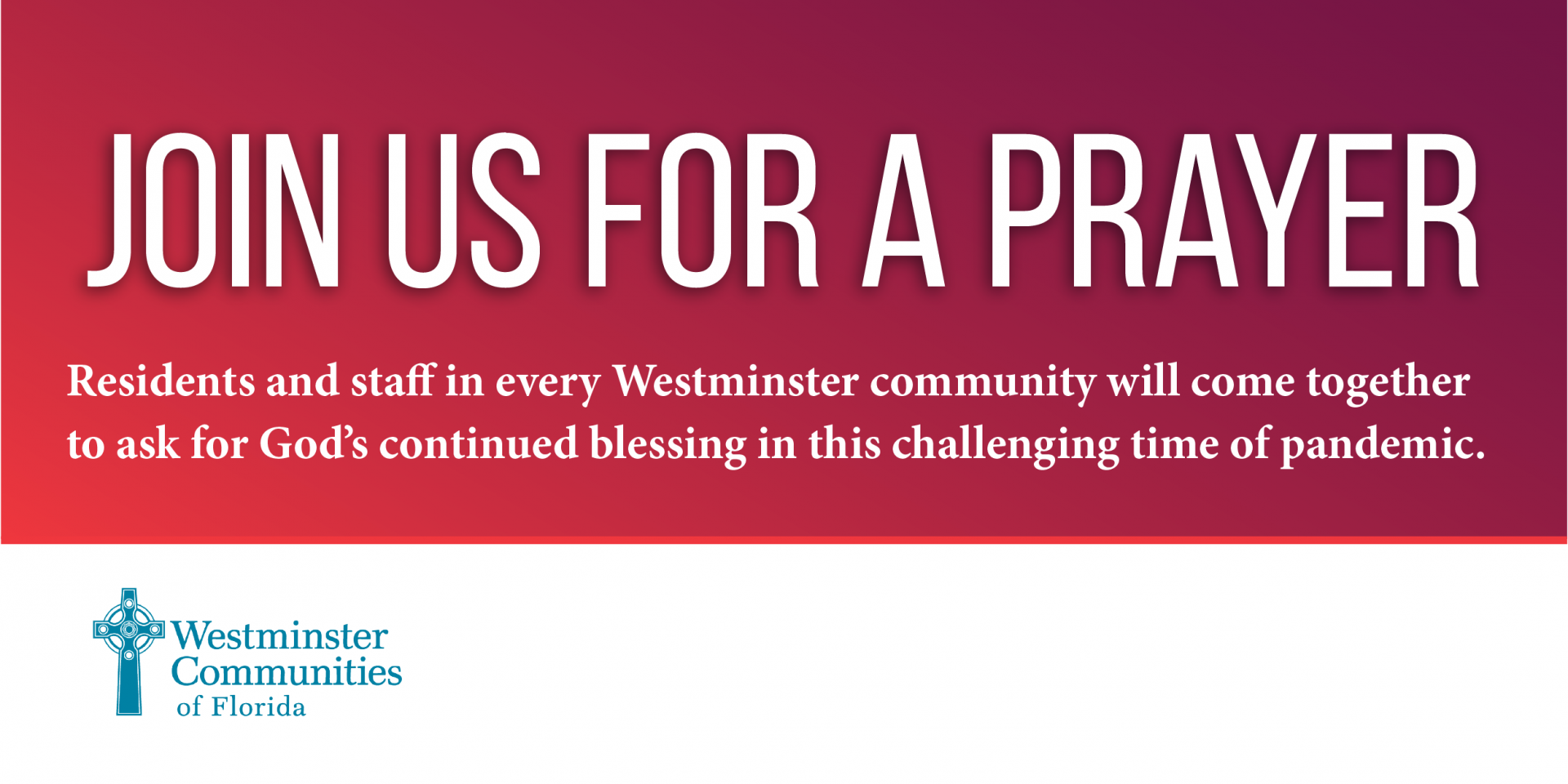 Join Us In A Shared Day of Prayer Today at 2 PM