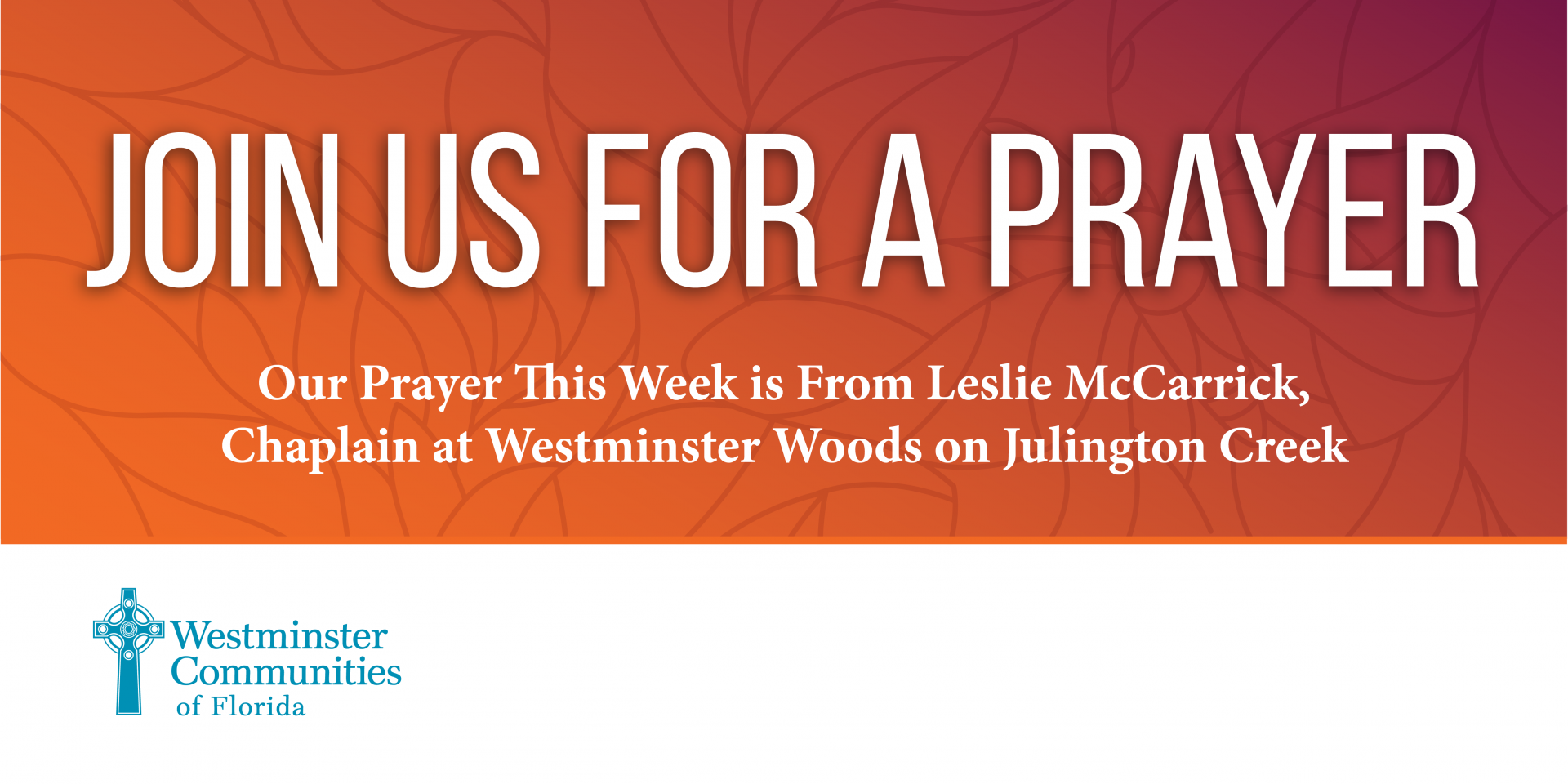 Join Us In A Shared Prayer Today at 2 p.m.