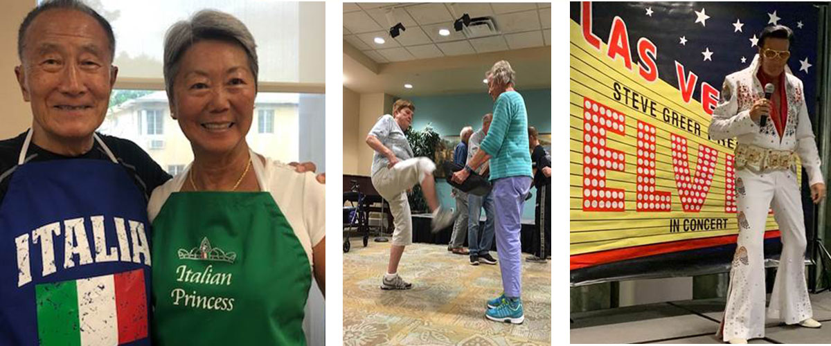 Photos showcasing The World Around You at our communities in August.