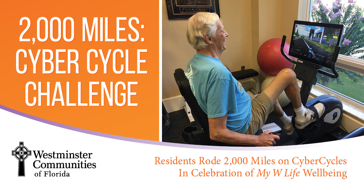 Residents Rode 2000 Miles in CyberCycle Challenge