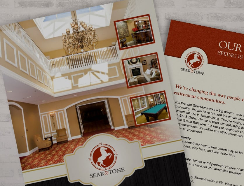 Create a Custom Brochure for SearStone in Cary, NC
